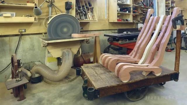 Fabrication d 39 un fauteuil en bois stop motion for Fabriquer fauteuil de jardin