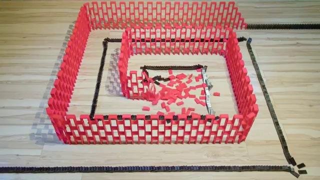 Insane Domino Tricks