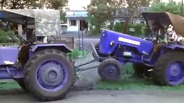 Tracter un tracteur fail - Tour de magie la femme coupee en deux ...