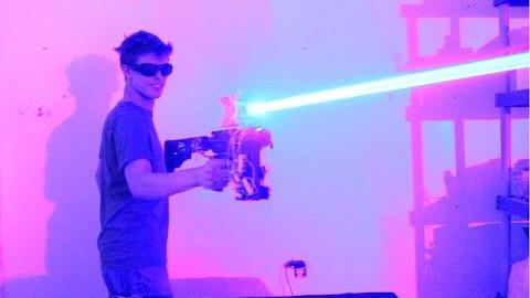Un laser de 40w fait maison for Arbalete fait maison puissante