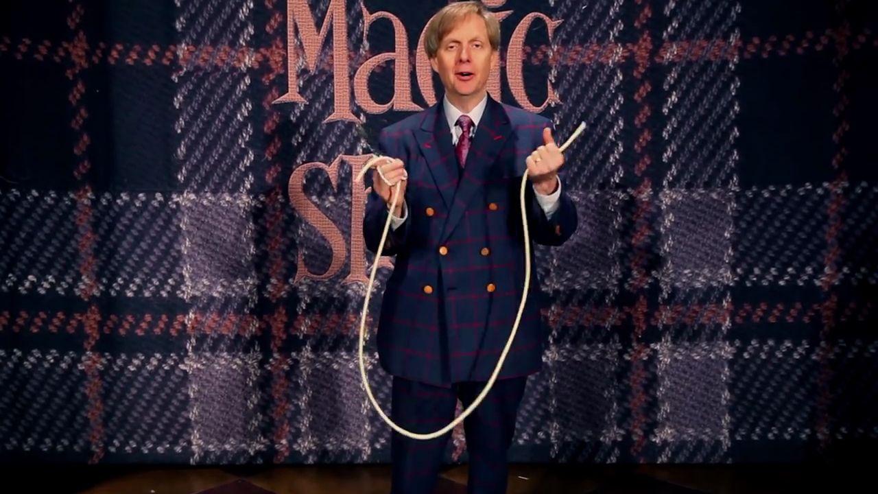 Tour de magie avec une corde - Explication tour de magie femme coupee en deux ...