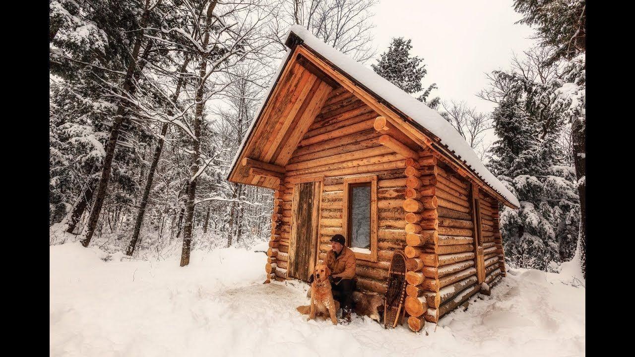 fabrication d 39 une cabane en bois timelapse. Black Bedroom Furniture Sets. Home Design Ideas