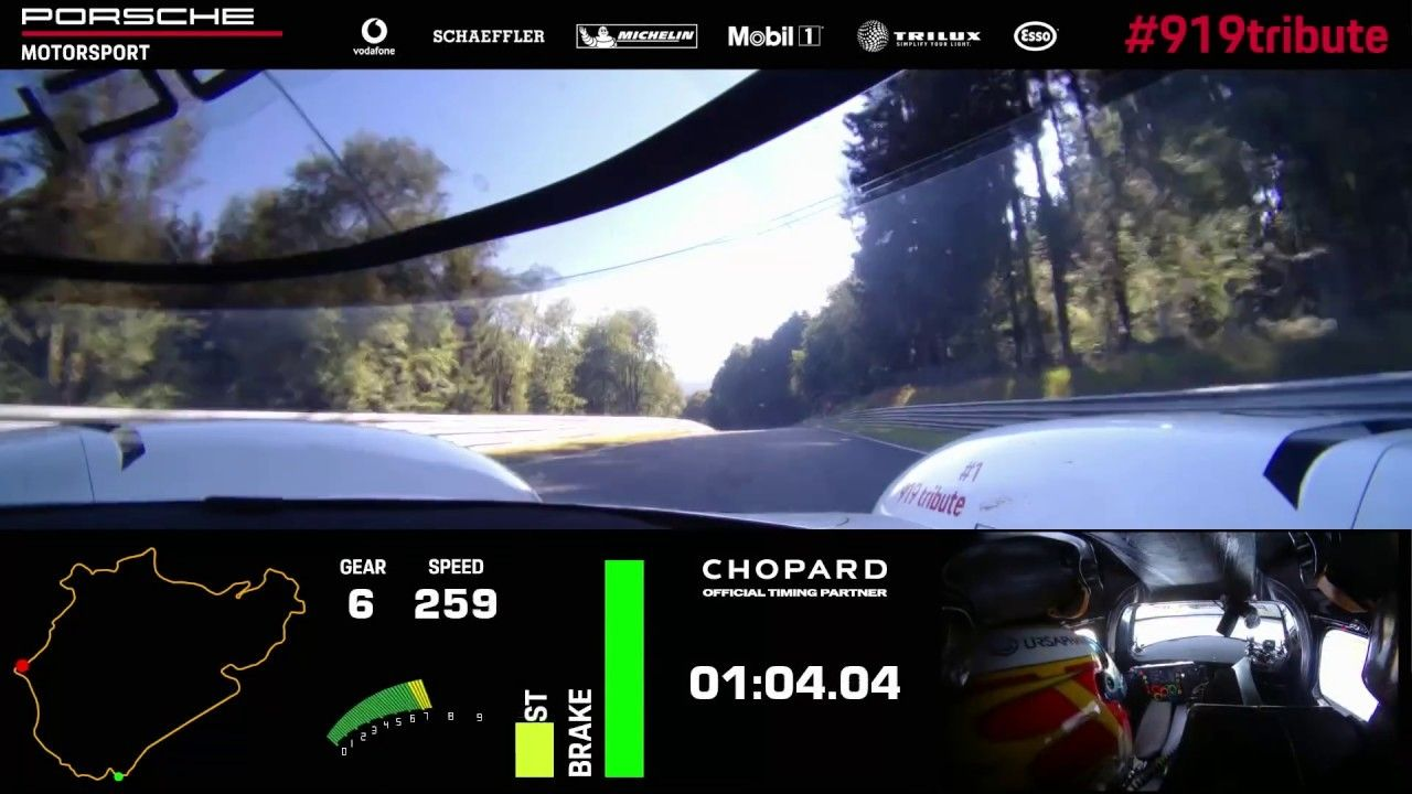 5 19 Quot 546 La Porsche 919 Hybrid Evo Bat Le Record De La